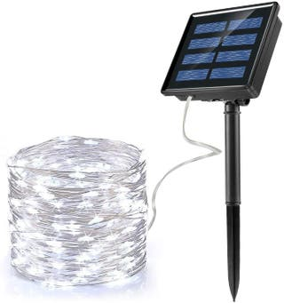 200 LED Luces Solares