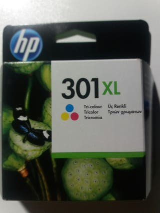Cartucho tinta hp 301 xl
