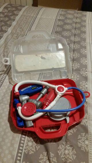maletín médico juguete