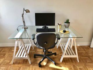 Precioso escritorio completo IKEA