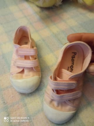 calzado de niña