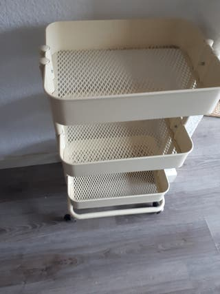 carrito IKEA beige