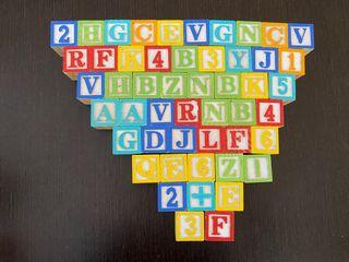 Juego de madera puzzle