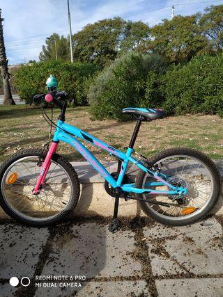 Bici niña Megamo
