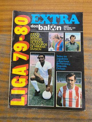Revista don balón el extra de 1979/1980 futbol