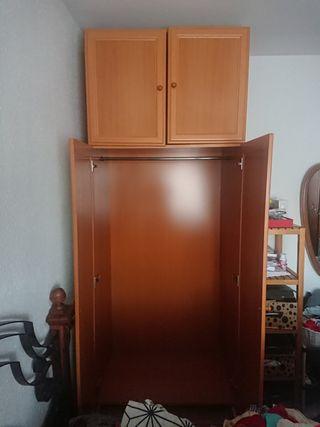armario de 2 puertas