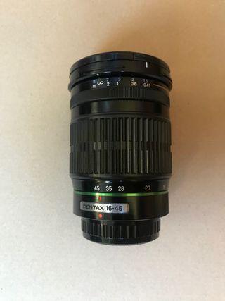Objetivo Pentax 16-45 mm AF f/4
