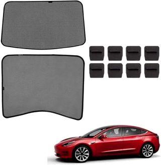 topfit Tesla Model 3 Sombrilla Coche Techo solar