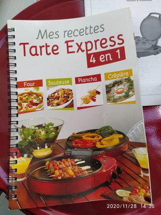 plancha tarte express