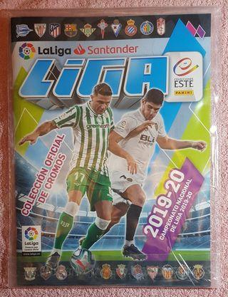 Album cromos la liga 19-20