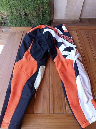 Pantalones KTM cross
