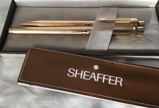 Sheaffer Targa 1005 Pluma y Bolígrafo (1982)