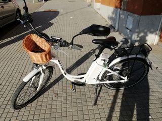 Bicicleta eléctrica de paseo Ecobike Elegance