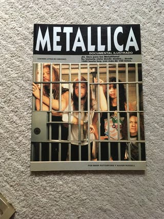 Libro Metallica documental Ilustrado 1993