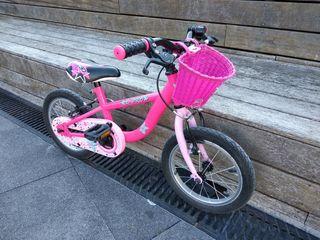 """bicicleta para niña 3-5 anos ruedas 14"""""""