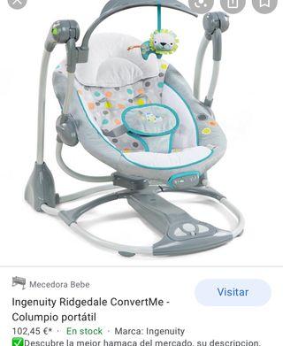 Mecedora/columpio bebé Ingenuity