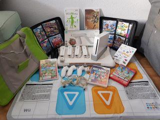 Wii + Accesorios.