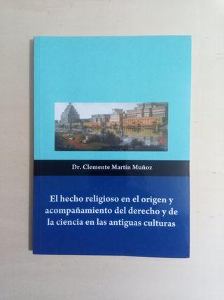 Libro - El hecho religioso en el origen y...