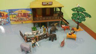Playmobil. Refugio de Animales Salvajes.
