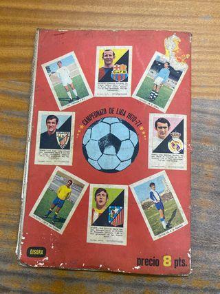 Álbum cromos la liga 1970/1971