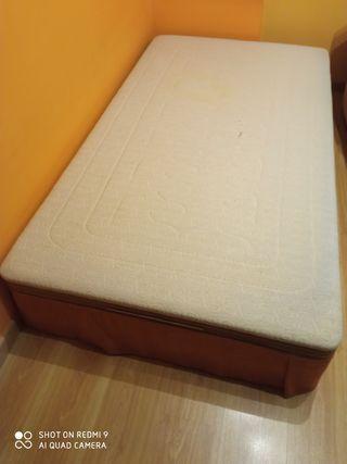 Arcón canapé con tapa abatible de 1,05