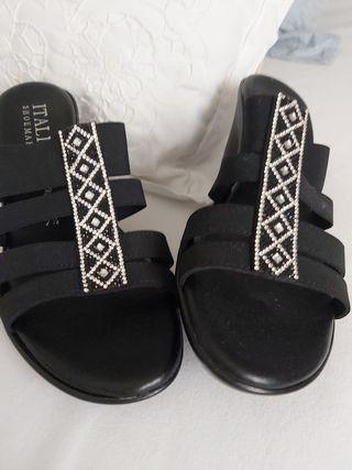 Sandalias cuña Italian shoemakers