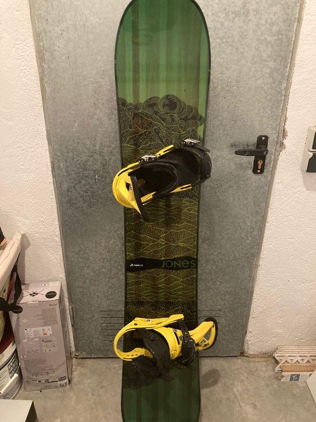 Tabla snowboard Jones Mountain twin 154