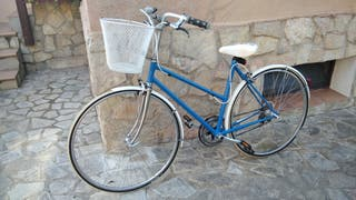 Bicicleta de paseo. Modelo único.