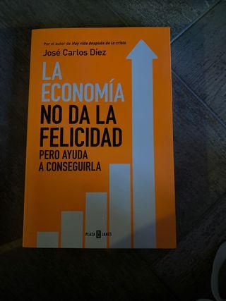 Libro la economía no da la felicidad