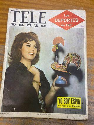 Tele radio revista franquismo 1966 número 461