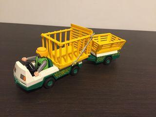 Coche transporte animales Playmobil