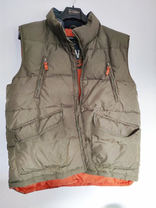 Chaleco anorac hombre