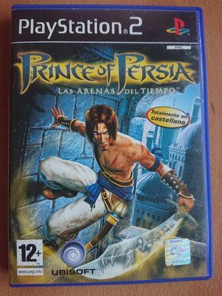 Prince of Persia y las arenas del tiempo. PS2