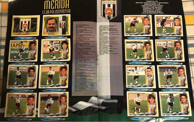 Álbum Cromos Liga Primera División 95/96