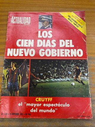 Revista actualidad espaola sept 1973 20ptas