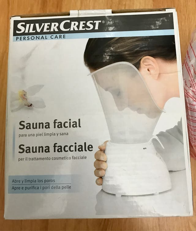 Sauna facial Silvercrest