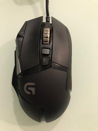 Ratón Logitech G502 Gaming