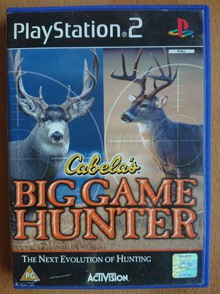 Cabela's Big Game Hunter. PS2