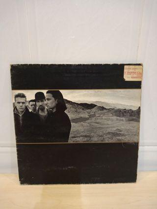 disco vinilo U2: The Joshua tree