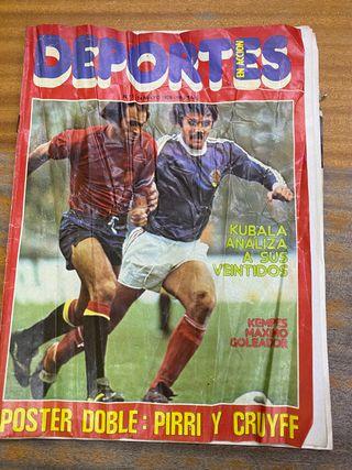 Revista deportes mayo 1978 foto real madrid