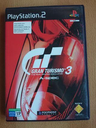 Gran Turismo 3, PS2.
