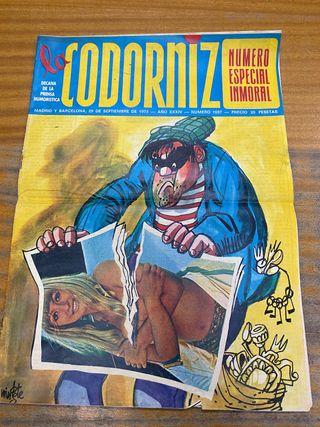 Revista la codorniz septiembre 1974 n1697