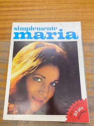 Coleccionable simplemente María número 1