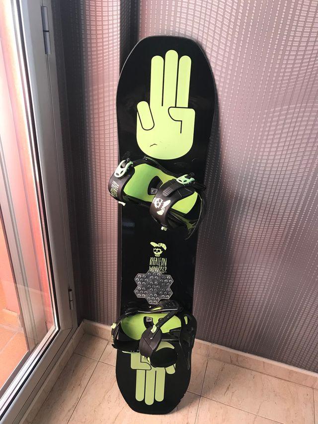 Tabla Snowboard Bataleon niño infantil 120