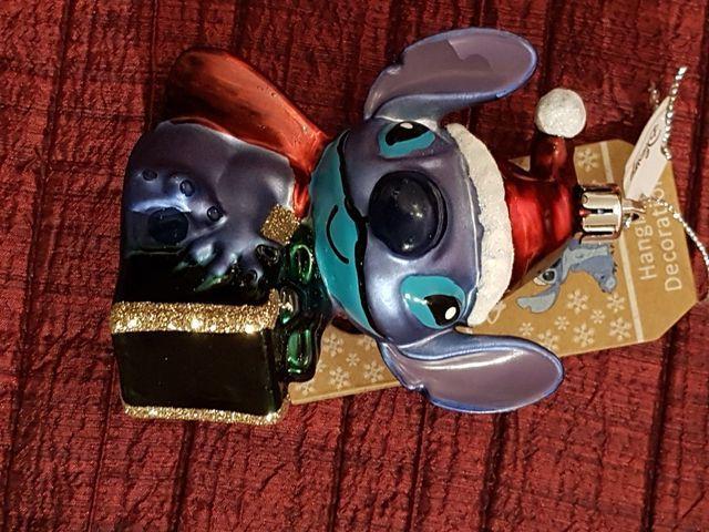 Adorno Navidad Stitch