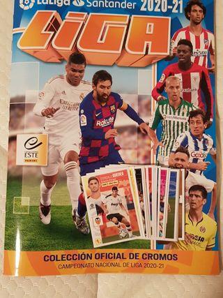 Colección cromos Liga 20-21