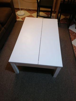mesa de centro abatible