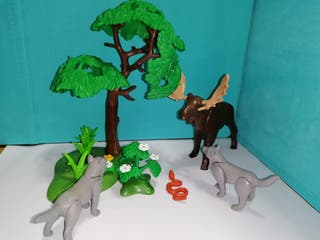 Playmobil lote animales bosque