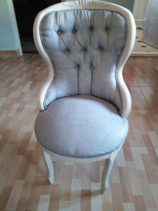 silla, sillón, descalzadora antigua