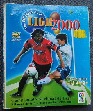 ALBUM ARCHIVADOR MUNDICROMO LIGA 1999/2000